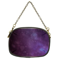 Abstract Purple Pattern Background Chain Purses (Two Sides)