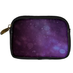 Abstract Purple Pattern Background Digital Camera Cases