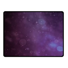 Abstract Purple Pattern Background Fleece Blanket (Small)