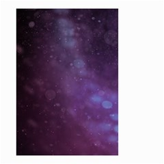 Abstract Purple Pattern Background Small Garden Flag (two Sides)