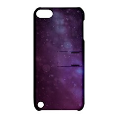 Abstract Purple Pattern Background Apple iPod Touch 5 Hardshell Case with Stand
