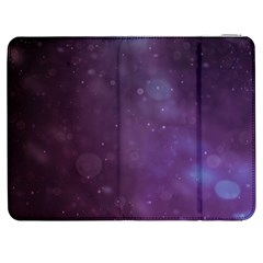 Abstract Purple Pattern Background Samsung Galaxy Tab 7  P1000 Flip Case