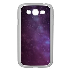 Abstract Purple Pattern Background Samsung Galaxy Grand DUOS I9082 Case (White)
