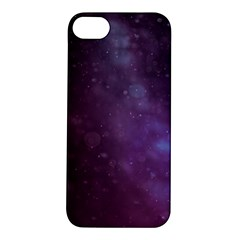 Abstract Purple Pattern Background Apple iPhone 5S/ SE Hardshell Case