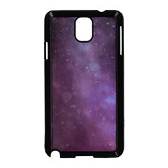 Abstract Purple Pattern Background Samsung Galaxy Note 3 Neo Hardshell Case (black)