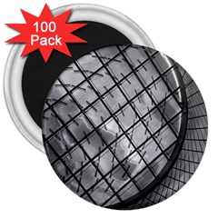 Architecture Roof Structure Modern 3  Magnets (100 Pack)
