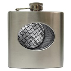 Architecture Roof Structure Modern Hip Flask (6 oz)