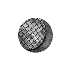 Architecture Roof Structure Modern Golf Ball Marker