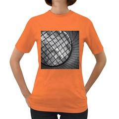 Architecture Roof Structure Modern Women s Dark T-Shirt