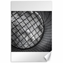 Architecture Roof Structure Modern Canvas 24  x 36