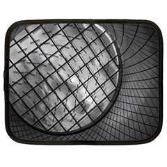 Architecture Roof Structure Modern Netbook Case (Large)