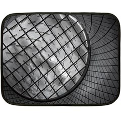 Architecture Roof Structure Modern Double Sided Fleece Blanket (mini)