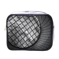 Architecture Roof Structure Modern Mini Toiletries Bags