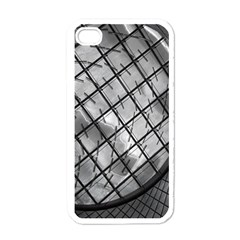 Architecture Roof Structure Modern Apple iPhone 4 Case (White)