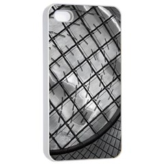 Architecture Roof Structure Modern Apple iPhone 4/4s Seamless Case (White)