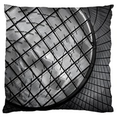 Architecture Roof Structure Modern Large Cushion Case (one Side)