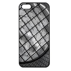 Architecture Roof Structure Modern Apple iPhone 5 Seamless Case (Black)