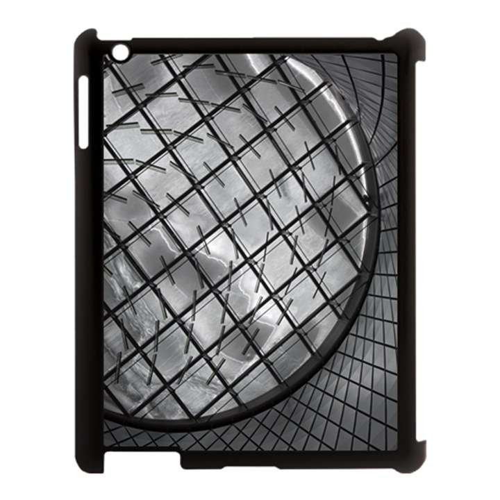 Architecture Roof Structure Modern Apple iPad 3/4 Case (Black)