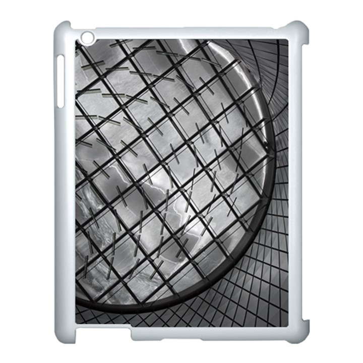 Architecture Roof Structure Modern Apple iPad 3/4 Case (White)