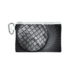 Architecture Roof Structure Modern Canvas Cosmetic Bag (S)