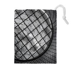 Architecture Roof Structure Modern Drawstring Pouches (Extra Large)