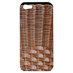 Armchair Folder Canework Braiding Apple iPhone 5 Hardshell Case