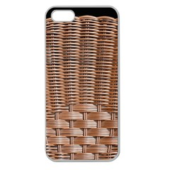 Armchair Folder Canework Braiding Apple Seamless Iphone 5 Case (clear)