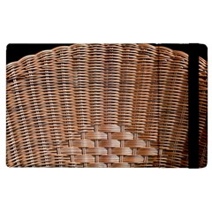 Armchair Folder Canework Braiding Apple iPad 3/4 Flip Case