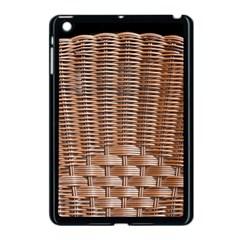 Armchair Folder Canework Braiding Apple Ipad Mini Case (black)