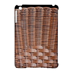 Armchair Folder Canework Braiding Apple iPad Mini Hardshell Case (Compatible with Smart Cover)
