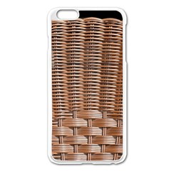 Armchair Folder Canework Braiding Apple iPhone 6 Plus/6S Plus Enamel White Case