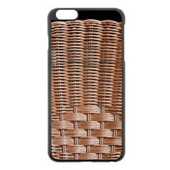 Armchair Folder Canework Braiding Apple iPhone 6 Plus/6S Plus Black Enamel Case