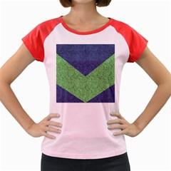 Arrow Texture Background Pattern Women s Cap Sleeve T Shirt