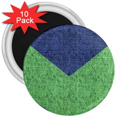Arrow Texture Background Pattern 3  Magnets (10 pack)