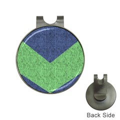 Arrow Texture Background Pattern Hat Clips with Golf Markers