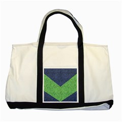 Arrow Texture Background Pattern Two Tone Tote Bag
