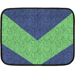 Arrow Texture Background Pattern Double Sided Fleece Blanket (mini)