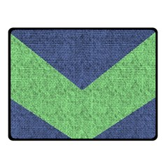 Arrow Texture Background Pattern Double Sided Fleece Blanket (Small)