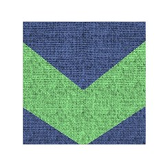 Arrow Texture Background Pattern Small Satin Scarf (square)