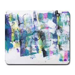 Background Color Circle Pattern Large Mousepads