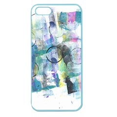 Background Color Circle Pattern Apple Seamless iPhone 5 Case (Color)