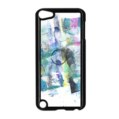 Background Color Circle Pattern Apple iPod Touch 5 Case (Black)