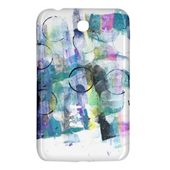 Background Color Circle Pattern Samsung Galaxy Tab 3 (7 ) P3200 Hardshell Case