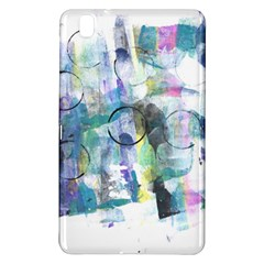 Background Color Circle Pattern Samsung Galaxy Tab Pro 8.4 Hardshell Case