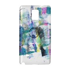 Background Color Circle Pattern Samsung Galaxy Note 4 Hardshell Case