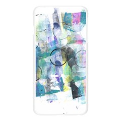 Background Color Circle Pattern Apple Seamless iPhone 6 Plus/6S Plus Case (Transparent)