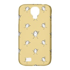 Happy Character Kids Motif Pattern Samsung Galaxy S4 Classic Hardshell Case (PC+Silicone)