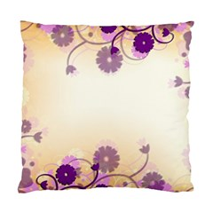 Background Floral Background Standard Cushion Case (One Side)