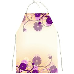 Background Floral Background Full Print Aprons
