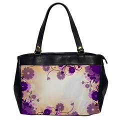 Background Floral Background Office Handbags
